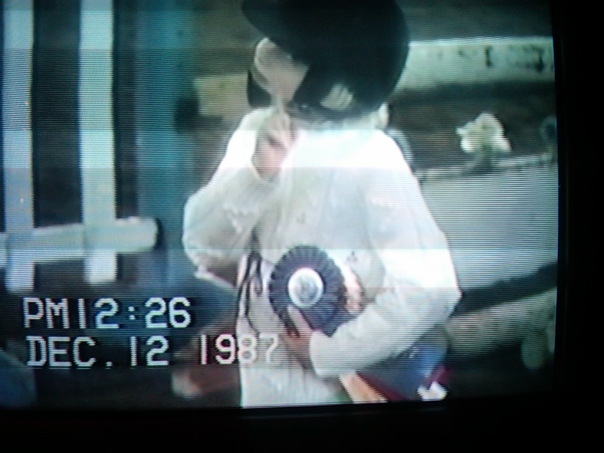 Home Movie, Hard Hat, Dressage Ribbons